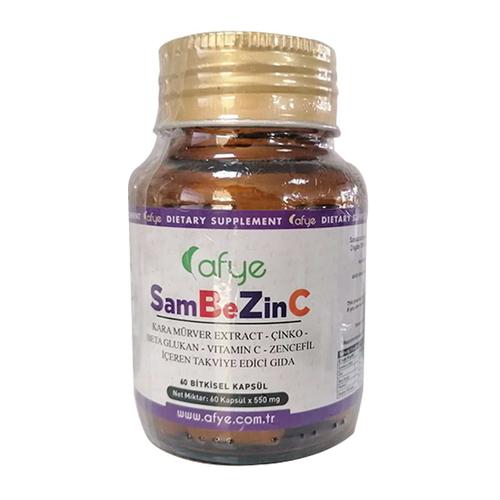 Afye - Afye SamBeZinC Takviye Edici Gıda 60 Bitkisel Kapsül