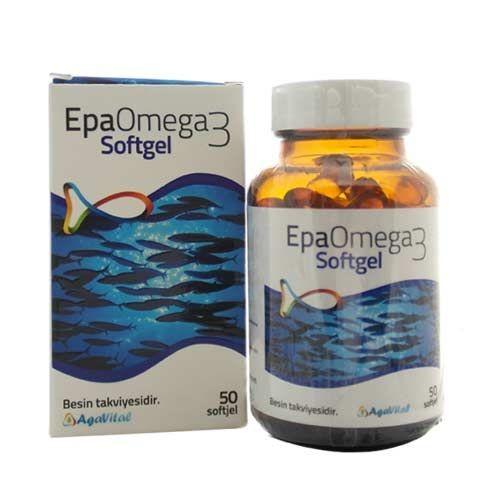Agavital - Agavital Epa Omega3 Softgel 50 Kapsül