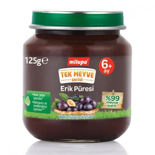 Nutricia - Milupa Tek Meyve Serisi Erik Püresi 125 gr | +6 Ay