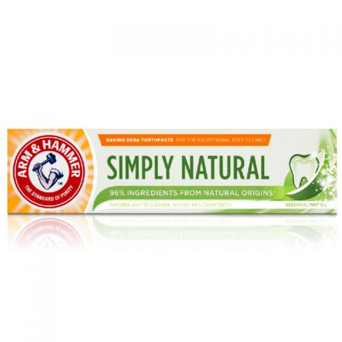 Arm & Hammer - Arm & Hammer Simply Natural Beyazlatıcı Diş Macunu 75 ml