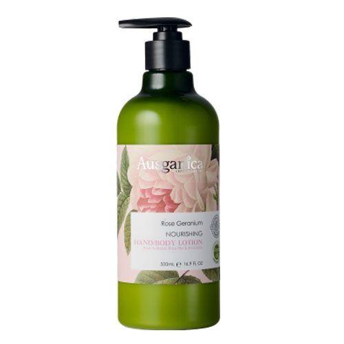 Ausganica - Ausganica Itır Çiçeği Besleyici El/Vücut Losyonu 500ml
