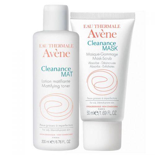 Avene - Avene Cleanance Yağlı ve Akneye Eğilim Gösteren Ciltler için Set