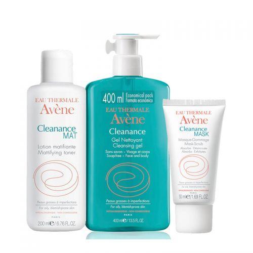 Avene - Avene Cleanance Yağlı ve Akneye Eğilimli Ciltler İçin Set