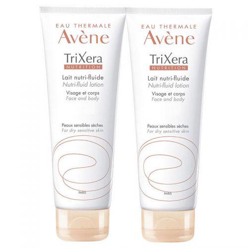 Avene - Avene TriXera Nutrition Yüz ve Vücut Losyonu 2x200 ml