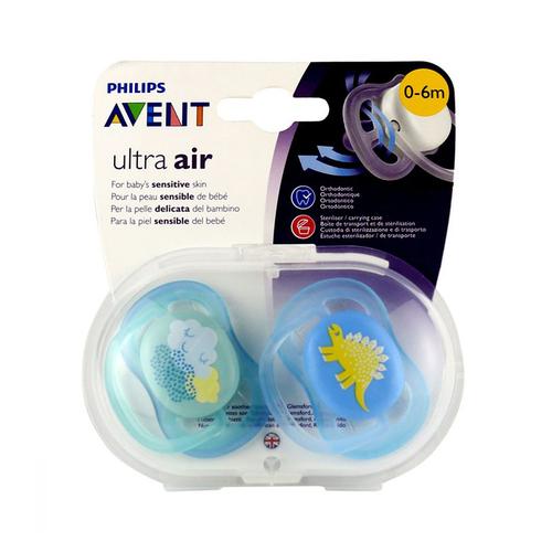 Avent - Avent Ultra Air 0-6 Ay İkili Emzik