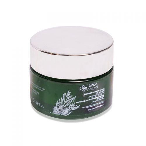 Bade Natural Bentonit ve Aktif Kömür içeren Kil Maskesi 50 ml