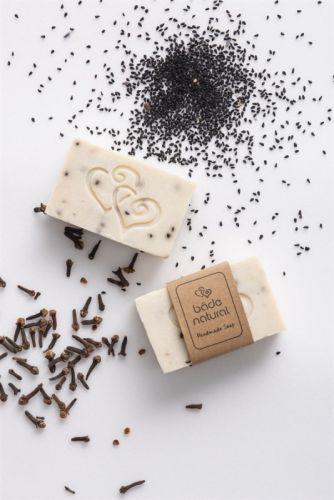 Bade Natural - Bade Natural Karanfilli Çörek Otlu Canlandırıcı Doğal Yüz Sabunu 100 GR
