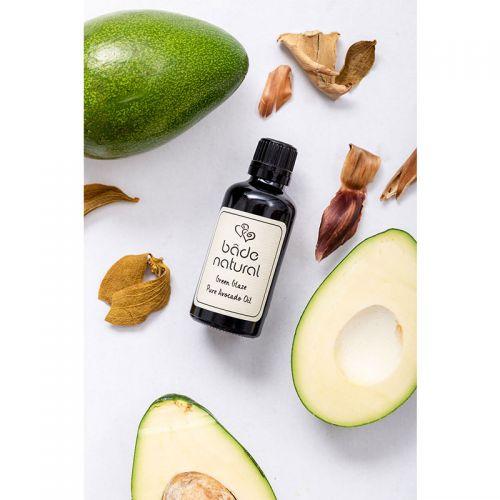 Bade Natural - Bade Natural Soğuk Sıkım Avokado Yağı Doğal ve Saf 50 ml