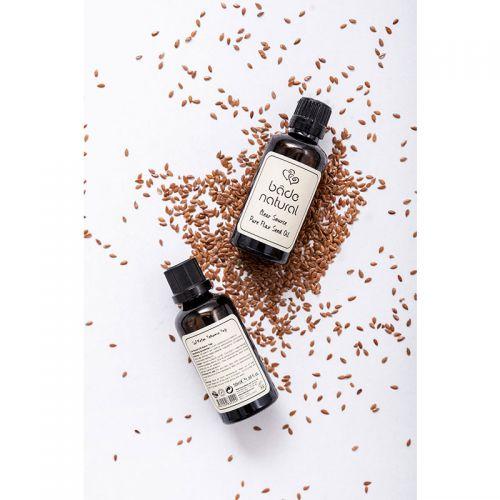 Bade Natural - Bade Natural Soğuk Sıkım Keten Tohumu Yağı Doğal ve Saf 50 ml