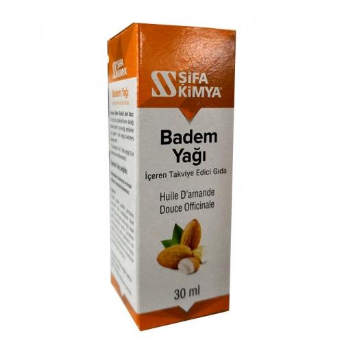 Şifa Kimya - Şifa Kimya Badem Yağı 30 ml