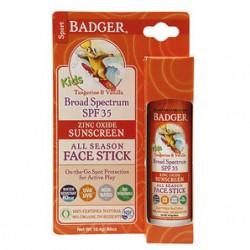 Badger - Badger Kids Spf35 Face Stick 18.4gr