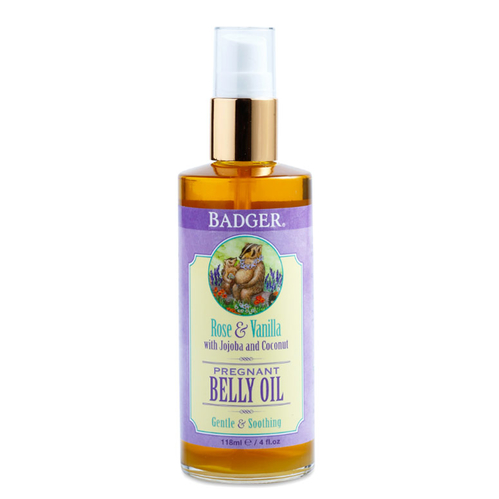 Badger - Badger Rose and Vanilla Belly Oil 118ml