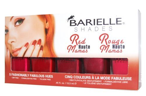 Barielle - Barielle Red Haute Mamas Oje Seti 5 Adet