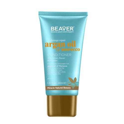Beaver - Beaver Argan Oil Of Moroccco Saç Bakım Kremi 40 ml