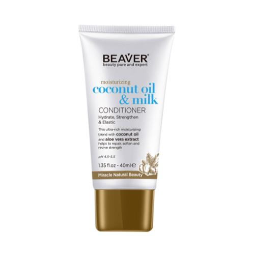 Beaver - Beaver Coconut Oil Milk Moisturizing Conditioner 40 ml