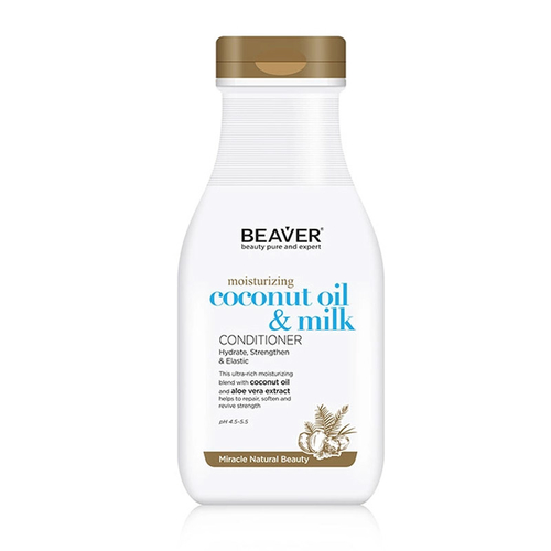 Beaver - Beaver Coconut Oil Milk Moisturizing Saç Bakım Kremi 350 ml