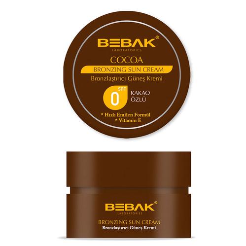 Bebak - Bebak Kakao Özlü Bronzlaştırıcı Güneş Kremi 100 ml