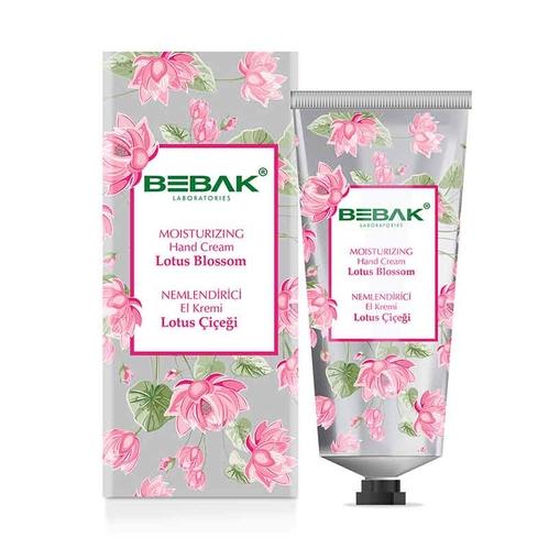 Bebak - Bebak Lotus Çiçeği Nemlendirici El Kremi 60 ml