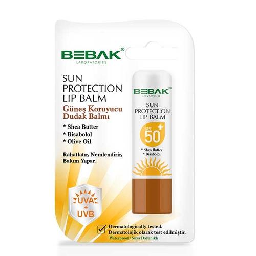 Bebak - Bebak Sun Protection Lip Balm Spf 50 4.5 gr