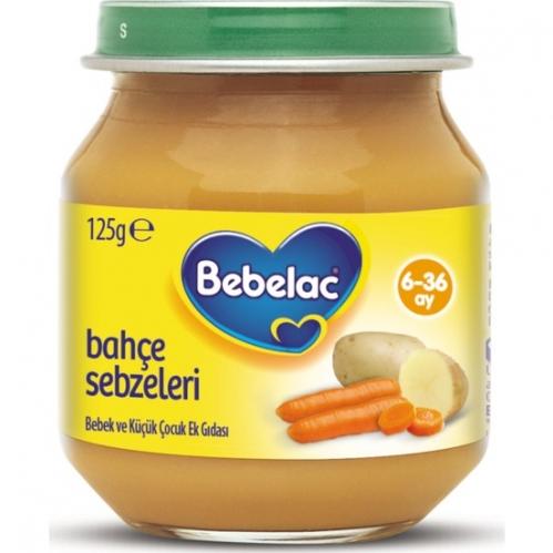 Nutricia - Bebelac Bahçe Sebzeleri Püresi125 gr | 6.aydan itibaren