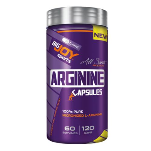 Bigjoy - Bigjoy Arginine 120 Veggie Kapsül