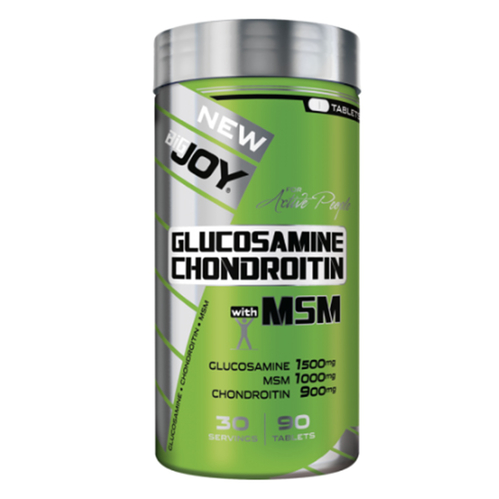 Bigjoy - Bigjoy Glucosamine Chondroitine Wtih MSM 90 Tablet
