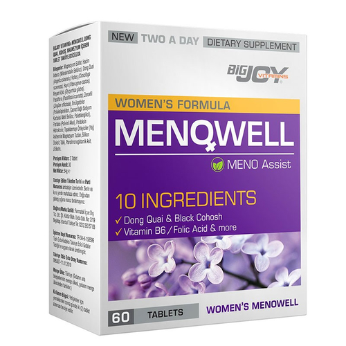Bigjoy Vitamins - Bigjoy Menowell Meno Assist 60 Tablet