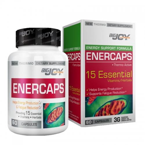Bigjoy Vitamins - Bigjoy Vitamins Enercaps 60 Kapsül