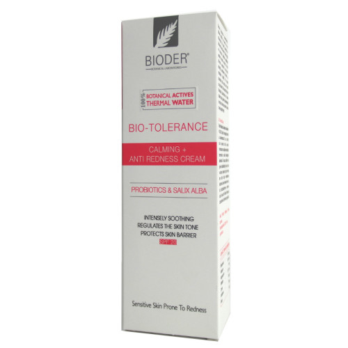 Bioder - Bioder Bio-Tolerance Toleranssız Ciltler için Kızarıklık Bakım Kremi 30ml