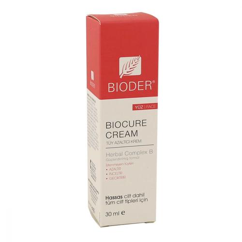 Bioder - Bioder Biocure Cream Yüz İçin Tüy Azaltıcı Krem 30 ml