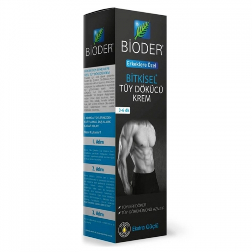 Bioder - Bioder Erkekler İçin Tüy Dökücü Krem 100 ml