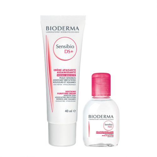 Bioderma Sensibio DS Cream 40ml Sensibio H2O 100ml