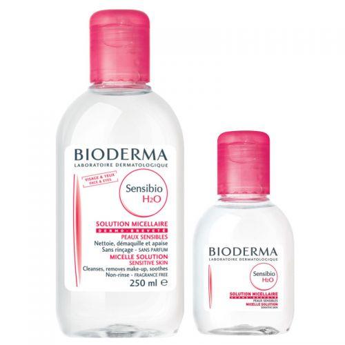 Bioderma - Bioderma Sensibio H2O 250 ml + Sensibio H20 100 ml SET