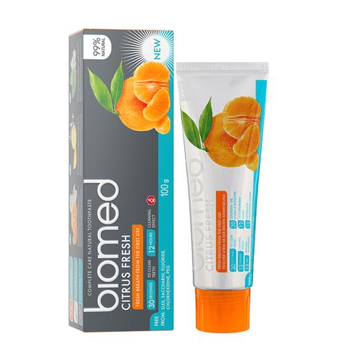 Biomed - Biomed Citrus Fresh Tam Bakım Sağlayan Doğal Diş Macunu 100 gr