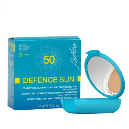 BioNike - BioNike Defence Sun Spf50 Compact Fondöten 10 gr Ambre 1
