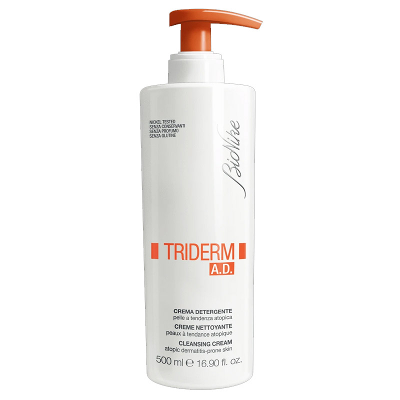 BioNike - BioNike Triderm A.D. Saç ve Vücut Temizleyici Krem 500 ml