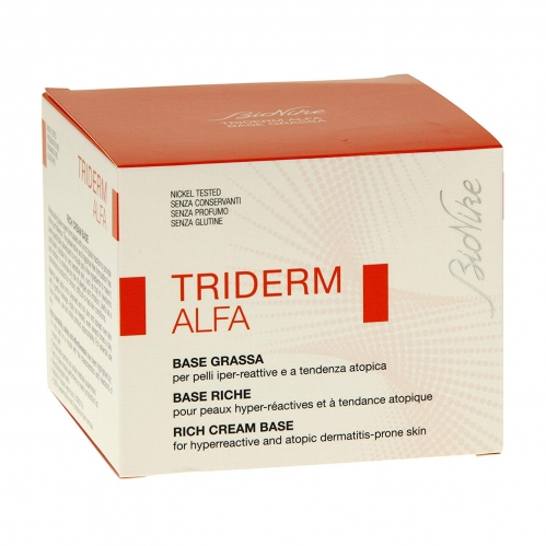 BioNike Triderm Alfa Rich Cream Base 450 ml - Thumbnail