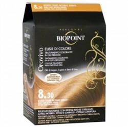 Biopoint - Biopoint Orovivo Saç Boyası 8.30 Doğal Açık Altın Sarı