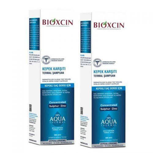 Bioxcin - Bioxcin Aqua Thermal Kepek Karşıtı Şampuan 300 ml + 2.si HEDİYE