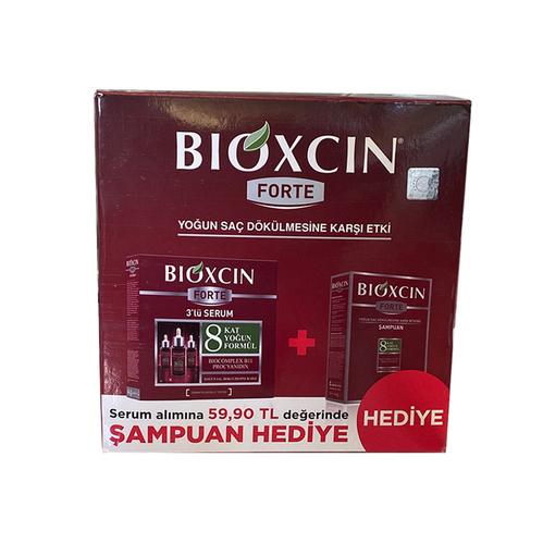 Bioxcin - Bioxcin Forte Yoğun Saç Dökülmesine Karşı Etki | Şampuan Hediyeli