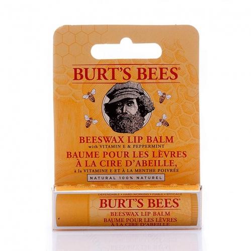 Burts Bees - Burts Bees Beeswax Doğal Dudak Bakımı Nane Ferahlığı 4.25 gr