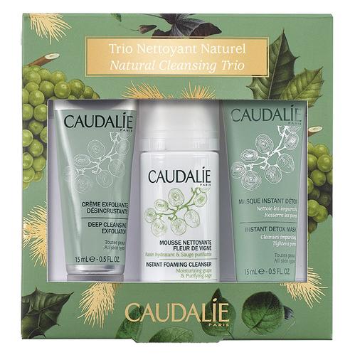 Caudalie - Caudalie Cleansing Trio Cilt Temizleme Seti