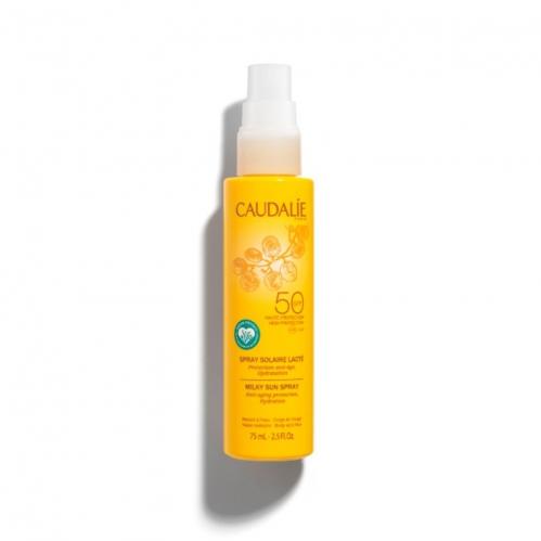 Caudalie - Caudalie Güneş Koruyucu SPF50 Yüz ve Vücut Sütü 75 ml