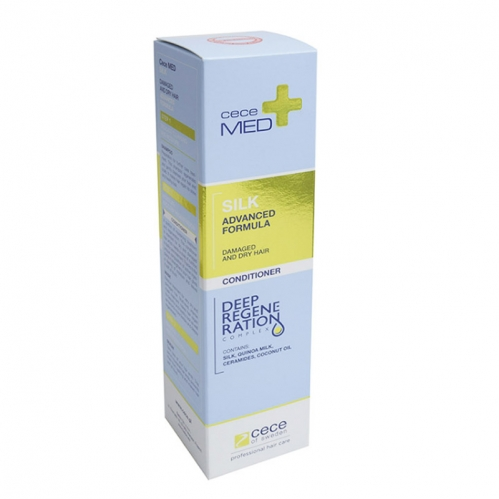 CeceMed - CeceMed Silk Damaged And Dry Hair Conditioner 300 ml