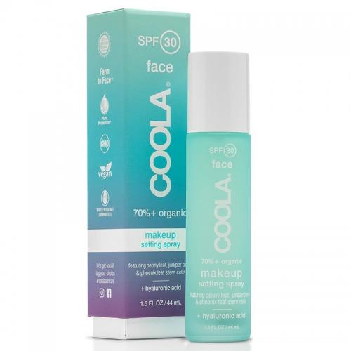 Coola Organic SPF30 Makeup Setting Sunscreen Spray 44 ml