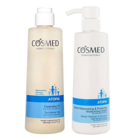 Cosmed - Cosmed Çok Kuru Ciltler İçin Vücut Bakım Seti1