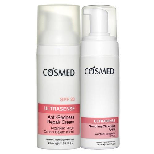 Cosmed - Cosmed Kızarık ve Hassas Ciltler Günlük Bakım Seti