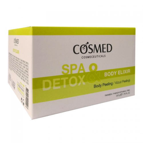 Cosmed - Cosmed Spa Detox Body Elixir Vücut Peelingi 220 gr