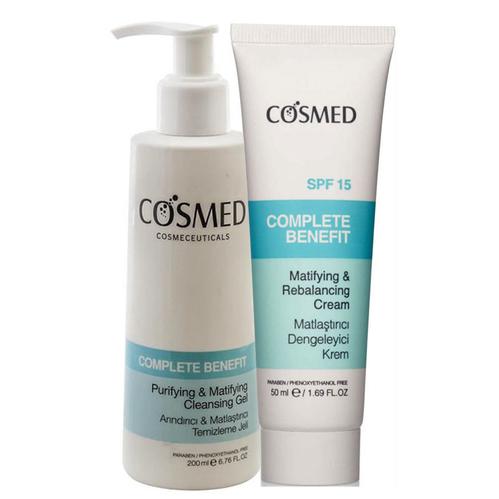 Cosmed - Cosmed Yağlı Akneye Eğilim Gösteren Ciltler İçin Günlük Bakım Seti