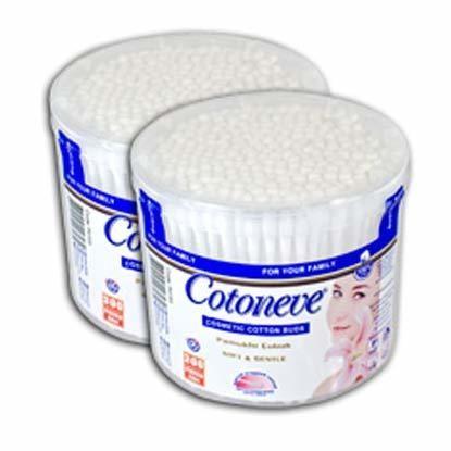 Cotoneve - Cotoneve Kavanoz Kulak Çubukları 300'lü